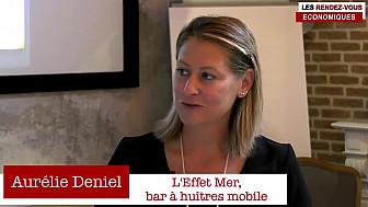 Les Rendez-vous Économiques Smartrezo : Aurélie DENIEL #OfficeCoffee #Leffetmer #interview