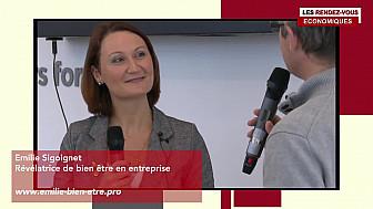 Les Rendez-vous Économiques Émilie Sigoignet #Médiacampus #Nantes #médias #journaliste #entrepreneurs