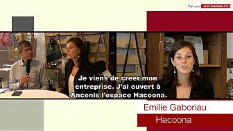 Les Rendez-vous Économiques Smartrezo : Émilie Gaboriau Hacoona Coworking @interview