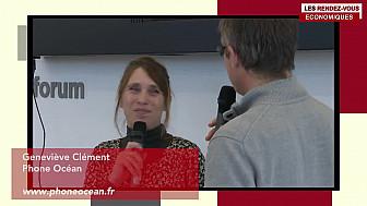 Les Rendez-vous Économiques Genevieve Clément #Médiacampus #Nantes #médias #journaliste #entrepreneurs