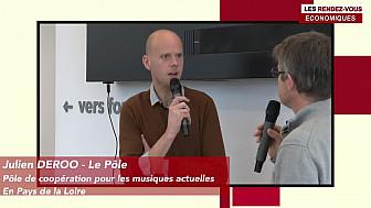 Les Rendez-vous Économiques Julien Deroo #Médiacampus #Nantes #médias #journaliste #entrepreneurs