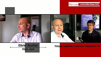 Les Rendez-Vous Économiques : Olivier Bouillon WEBJEDI  Le Jardin des 3 rivières @entreprendre @économie