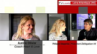 Les Rendez-Vous Économiques : Aurélie Ollivier Coach Heart & Love @entreprise @économie
