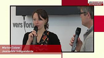 Les Rendez-vous Économiques Marion Coisne #Médiacampus #Nantes #médias #journaliste #entrepreneurs