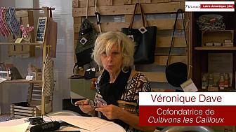 Les Rendez-vous Économiques Smartrezo : Véronique Dave , membre du collectif Cultivons Les Cailloux à Ancenis (44)