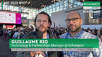 NRF 2020 NYC : Debreifing 1 première journée de  Guillaume Rio et Nicolas Diacono au @NRFBigShow @BNPP_PF @nincoroby @Guillaume_Rio @Echangeur @StevenPDennis @sallyeaves